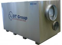 Industrial dehumidifier of MDC3000 air
