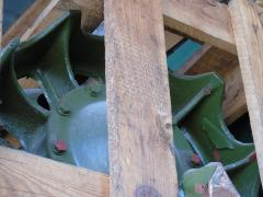 Crank with guide wheel for the T-55 tank catalog