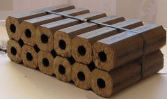 Fuel briquettes of PINI KAY