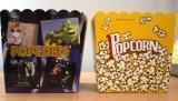 Glasses (square) for popcorn