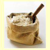 Flour extruded (from raw materials: corn,