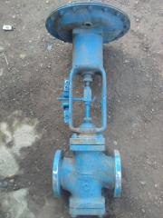 The valve the gate-type Du25 which is NC (normally
