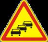 Дорожный знак Заторы в дорожном движении 1.38