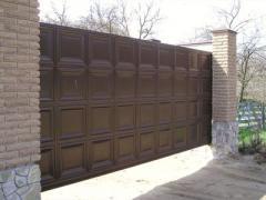 Откатные ворота серии ADS400