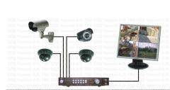 Оборудование для систем видеонаблюдения-монтаж,