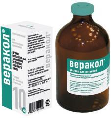 Verakol solution for injections, fl. 10 ml