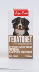 Gepatovet for dogs, fl. 50 and 100 ml
