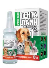 Drops gentalayn ear 1% (gentamycin) of 10 ml