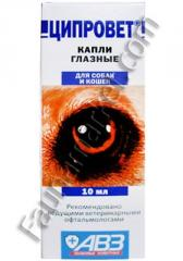 Drops tsiprovt eye 10 ml