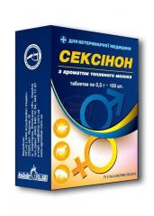 Seksinon for pigs of 100 ml fl.
