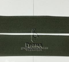 Лента липучка  темно зеленая  25 мм, арт. 5035
