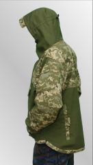 Jacket hill camouflage Alpha