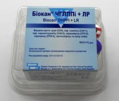 Вакцина Биокан DHPPi + LR вакцина для собак 1мл