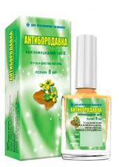 Anti-wart means papilomatsidny