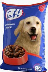 Gav veal with rice dry dog food of 10 kg