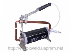 The device for contact spot welding of AKTS-1500