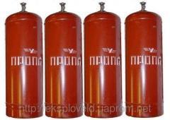 Cylinder of propane 5 l, 12 l, 27 l, 50 l of GOST