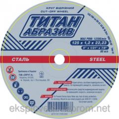 Circle detachable Titan abrasive