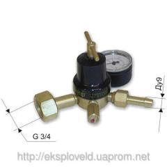 Expense regulator carbon dioxide UR-30-2DM, 9 mm