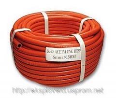Sleeve gas, acetylene, propane f 6; 9 mm