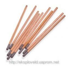 Coal, graphite electrodes copperplated