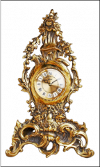 Часы венок из цветов артикул: Ч016