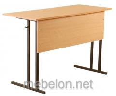 Table student's two local without shelf