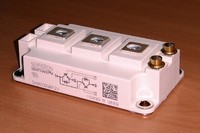 IGBT Semikron module V-IGBT SKM200GB12V chip