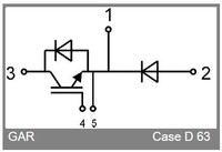 IGBT Semikron SKM145GAR128D module