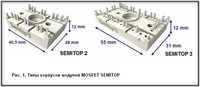 Модули MOSFET серии SEMITOP