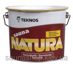 Пропитка для вагонки в баню Teknos Sauna-Natura