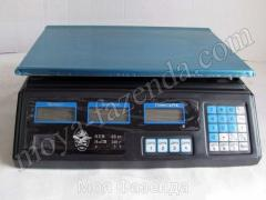 Scales for the UWJe-40 Harvest shop (R-137 code)