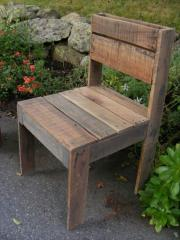 Natural tree chair