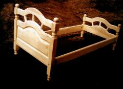 Кровать деревянная детская (натуральное дерево)
