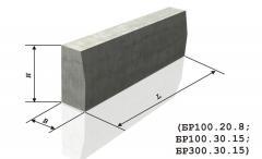 Бордюрний камінь БР100.20.8