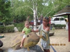 Парковая скульптура Черепаха с золотым ключиком