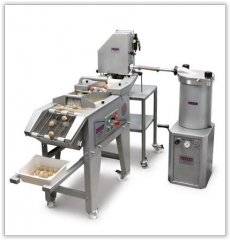 The production line for molding of quenelles
