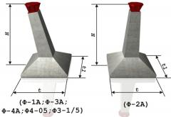 Фундамент под высоковольтные опоры 35-500 кВт Ф-2А