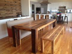Dining room furniture from a tree