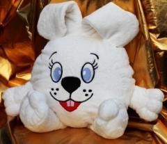 Soft toys of Smeshariki - a pillow the Rabbit.