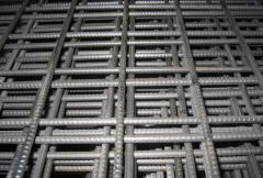 Grid for reinforcing of floors 100x100, 150x150,