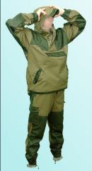 Suit hill of Guerrillas-about. Military uniform