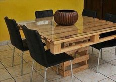 Furniture wooden for giving