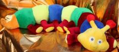 "Soft toy ""Caterpillar"