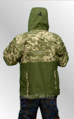 Jacket hill Alpha. The clothes are protective
