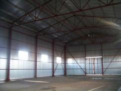 Hangar of pryamost_nniya 12*36*6