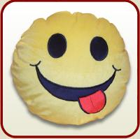 """Toy pillow """"Smilie""""."""