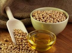 Soy oil syrodavlenny production