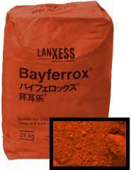 Красный пигмент железоокисный Байферрокс 110