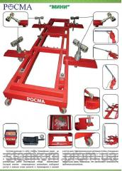 The movable leveling stand Pass for recovery of